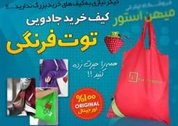 کیف خرید توت فرنگی
