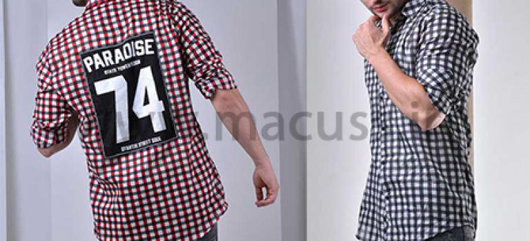 پیراهن مردانه پشت چاپی مدل ۵۵۵۰