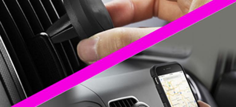 هولدر مغناطیسی موبایل مخصوص دریچه کولر اتومبیل